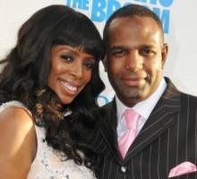 Tasha Smith Gets Married at Home