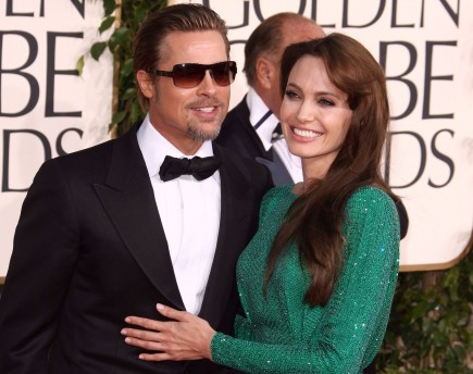 Cupid's Pulse Article: Brad Pitt Supports Angelina Jolie Through Double Mastectomy