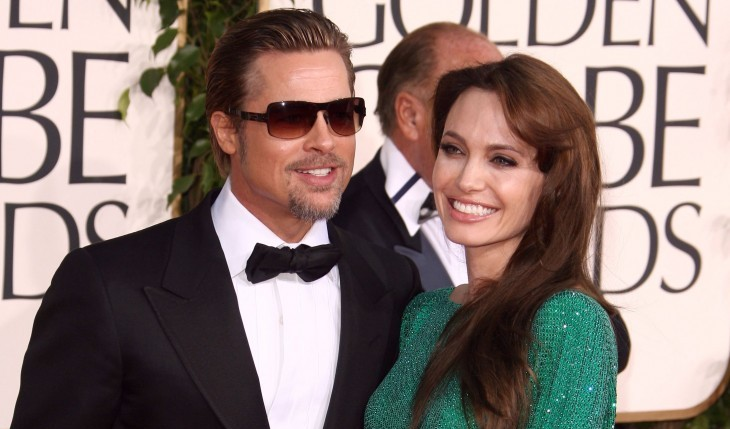 Cupid's Pulse Article: Angelina Jolie and Brad Pitt Celebrate Her Film with Dinner