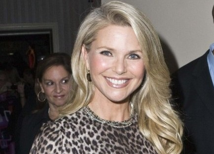 Cupid's Pulse Article: Christie Brinkley Says Finding Love Isn't a Priority
