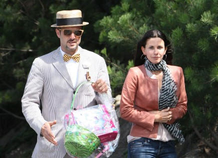 David Arquette and Courteney Cox. Photo: Mike/Fame Pictures