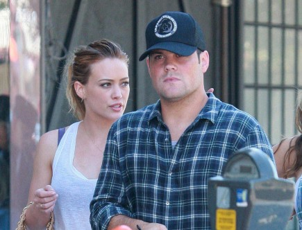 Hilary Duff and Mike Comrie. Photo: Dino/DS/Flynetpictures.com