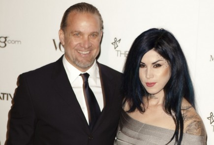 Jesse James and Kat Von D. Photo: Emiley Schweich / PR Photos