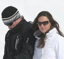 Prince William and Kate Middleton Go on Ski Trip in France
