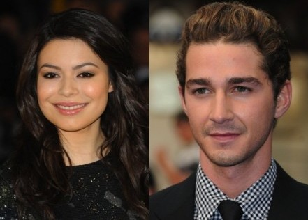 Miranda Cosgrove and Shia LaBeouf. Photo: Solarpix / PR Photos