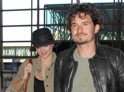 Miranda Kerr and Orlando Bloom. Photo: Gangster#1/Flynetpictures.com