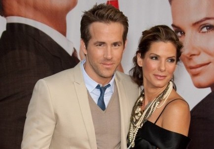 Ryan Reynolds and Sandra Bullock. Photo: Chris Hatcher / PR Photos