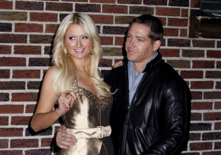 Paris Hilton and Cy Waits. Photo:  Janet Mayer / PR Photos
