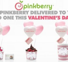 Valentine's Day Giveaway: Pinkberry Introduces Swirly Grams