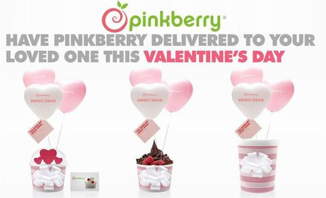 Cupid's Pulse Article: Valentine's Day Giveaway: Pinkberry Introduces Swirly Grams