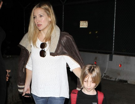 Kate Hudson with son Ryder. Photo: Gangster#1/Flynetpictures.com