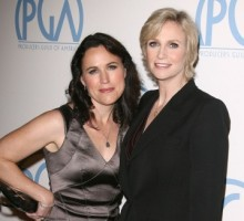 Jane Lynch Admires Wife's Bikini Bod