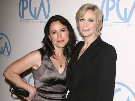 Cupid's Pulse Article: Jane Lynch Admires Wife's Bikini Bod