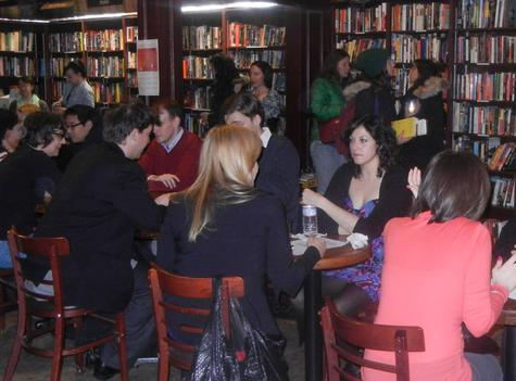 dating advice, events, Housing Works Bookstore Cafe, Lanvanya Sunkara, love advice, New York City, relationship experts, Speed Shrinking, Speed Shrinking For Love Party, Susan Shapiro, Valentine's Day