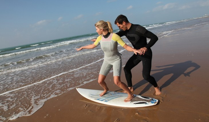 Cupid's Pulse Article: Date Idea: Learn a New Sport Together