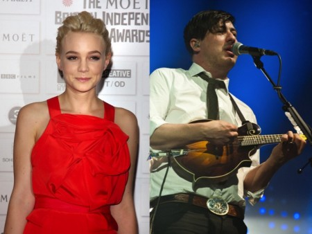 Carey Mulligan and Marcus Mumford. Photo: Landmark / PR Photos; Paul J. Froggatt/FAMEFLYNET PICTURES