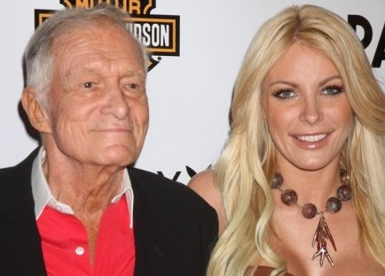Cupid's Pulse Article: Hugh Hefner and Crystal Harris Get Close at Lingerie Party