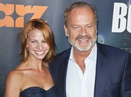 Kayte Walsh and Kelsey Grammer. Photo: Emiley Schweich / PR Photos