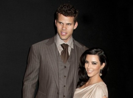 Kris Humphries and Kim Kardashian. Photo: Janet Mayer / PR Photos