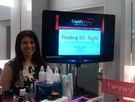 Cupid's Pulse, Lori Bizzoco, Mr. Bright, Finding Mr. Bright, Bloomingdale's, NYC, Benefit Cosmetics, Vicky Sullivan, Aspiring Sociailite