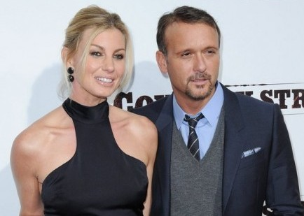 Tim Mcgraw and Faith Hill stay together despite Tim Mcgraw's alcohol addiction.
