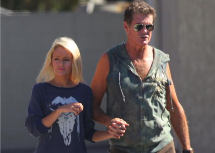 Cupid's Pulse Article: David Hasselhoff Shows Off New Girlfriend At Coachella