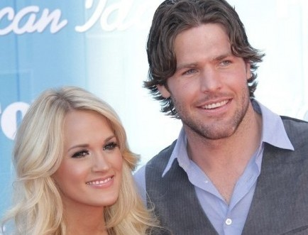 Carrie Underwood and Mike Fisher. Photo: Andrew Evans / PR Photos