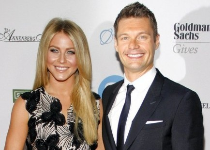 Julianne Hough and Ryan Seacrest. Photo: David Gabber / PR Photos
