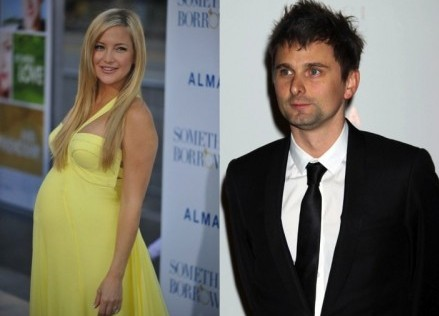 Kate Hudson and Matthew Bellamy. Photo: richard shotwell / PR Photos; ER/Flynetpictures.com