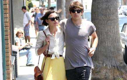 Keira Knightley and James Righton. Photo: BD/Flynetpictures.com