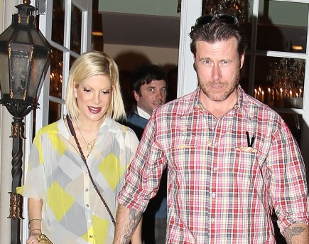 Tori Spelling and Dean McDermott. Photo: DS/Flynetpictures.com