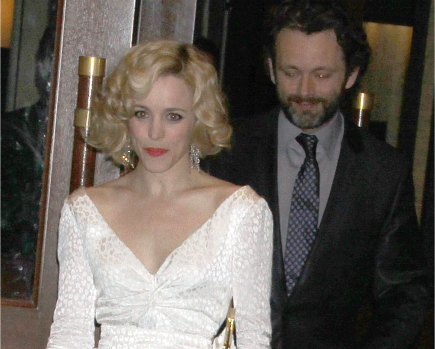 Rachel McAdams and Michael Sheen.  Photo: GG/Flynetpictures.com