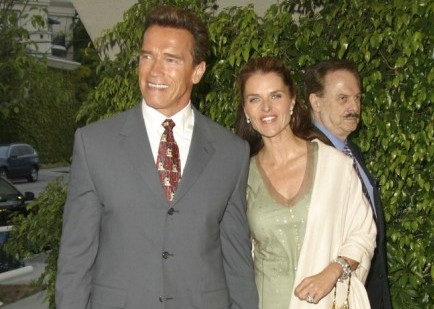 Arnold Schwarzeneggar and Maria Shriver. Photo: Lee Roth / RothStock / PR Photos