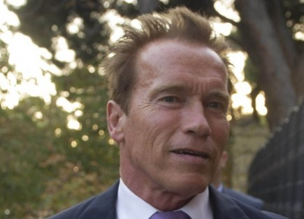 Arnold Schwarzenegger. Photo: Solarpix / PR Photos