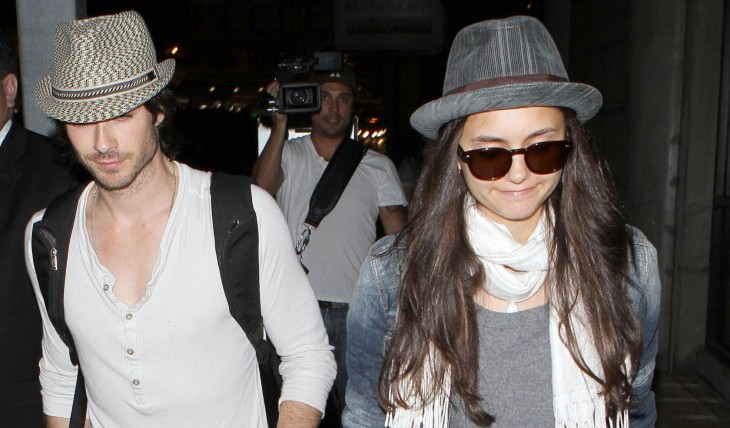 Cupid's Pulse Article: 'Vampire Diaries' Stars Ian Somerhalder and Nina Dobrev Pack on PDA