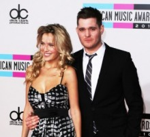 Michael Bublé's Wife Wears Two Wedding Dresses