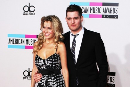 Cupid's Pulse Article: Michael Bublé's Wife Wears Two Wedding Dresses