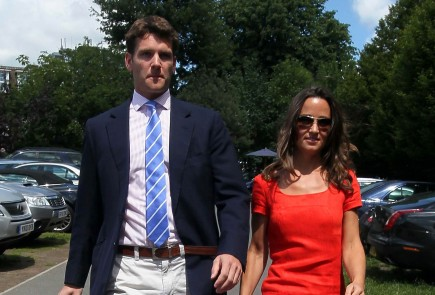 Cupid's Pulse Article: Pippa Middleton and Beau Spend Weekend at Family Home