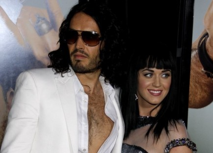 Russell Brand and Katy Perry. Photo: PR Photos