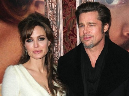 Angelina Jolie and Brad Pitt. Photo: Starmax / PRPhotos.com