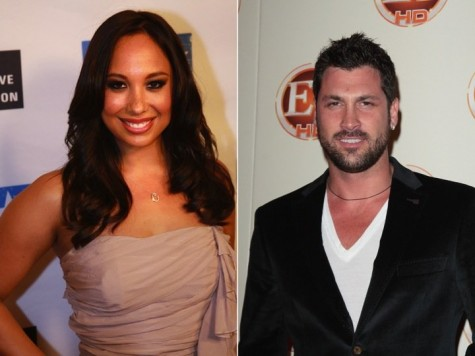 Cupid's Pulse Article: Cheryl Burke and Maksim Chmerkovskiy: Not Dating