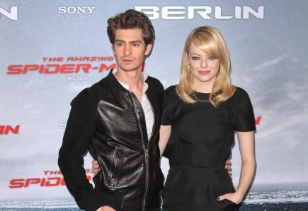 Andrew Garfield and Emma Stone. Photo: Away! / PR Photos