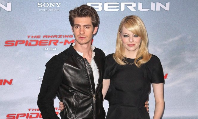 Cupid's Pulse Article: Emma Stone Is Dating Spider-Man Co-Star Andrew Garfield