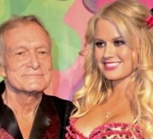 Hugh Hefner Parties In Kandyland With New Girlfriend Ann Sophia Berglund