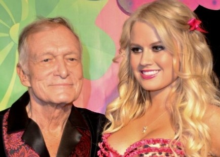 Cupid's Pulse Article: Hugh Hefner Parties In Kandyland With New Girlfriend Ann Sophia Berglund