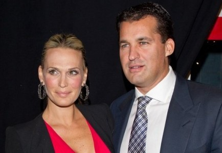 Molly Sims and Scott Stuber. Photo: Charles Norfleet / PR Photos