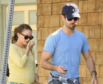 Natalie Portman and Benjamin Millepied. Photo: CAD/Fame Pictures