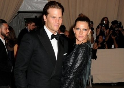 Tom Brady and Gisele Bundchen. Photo: Janet Mayer / PR Photos