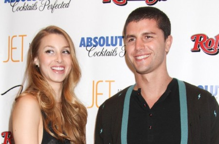 Whitney Port and Ben Nemtin. Photo: PRN / PR Photos