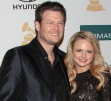 Miranda Lambert and Blake Shelton Sneak In Alone Time at Kid Rock's Bash